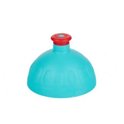 Zdravá lahev Víčko zelené tyrkys/zátka červená