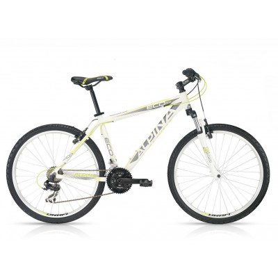 "KELLYS ALPINA ECO M10 white-lime 19.5"" PINA"