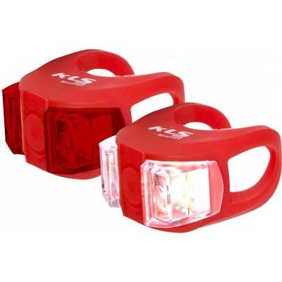 KELLYS Osvětlení set KLS TWINS, red