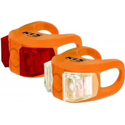 KELLYS Osvětlení set KLS TWINS, orange