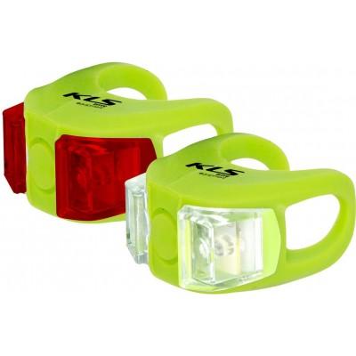 KELLYS Osvětlení set KLS TWINS, lime green