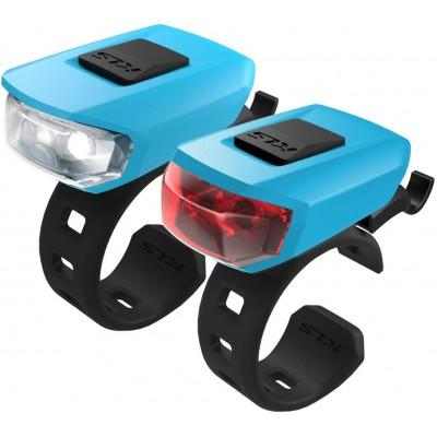 KELLYS Osvětlení set KLS VEGA USB, sky blue