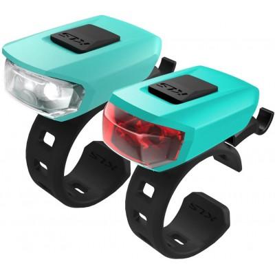 KELLYS Osvětlení set KLS VEGA USB, turquoise