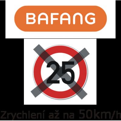 Zvýšení rychlosti elektrokola až na 50 km/hod - Bafang Maxdrive