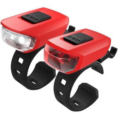 KELLYS Osvětlení set KLS VEGA USB, red