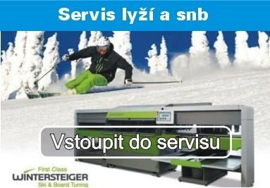 Servis lyží, běžek a snowboardů